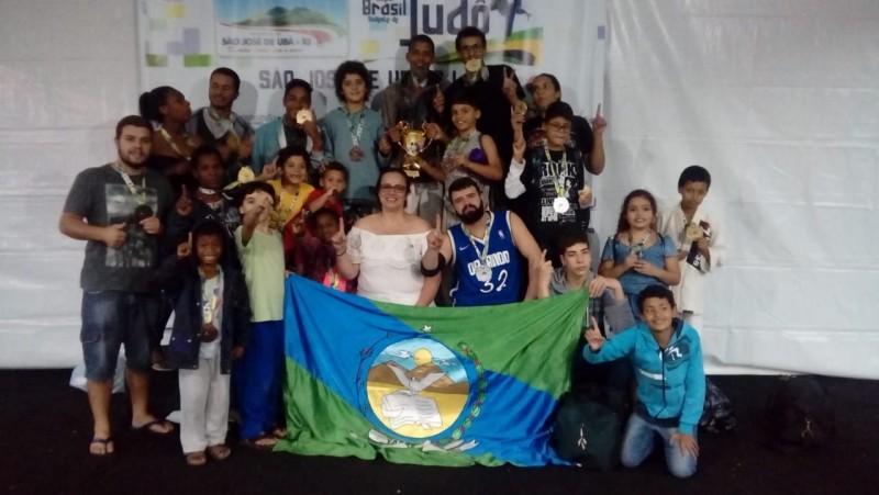 Atletas de Varre-Sai conquistam medalhas na 5ª Copa Brasil Sudeste de Judô